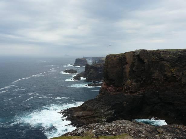 Kliffen van Calder's Geo, Drid Gep, Scraada en Blackhead of Breigeo